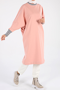 Pamuklu Basic Sweat Tunik