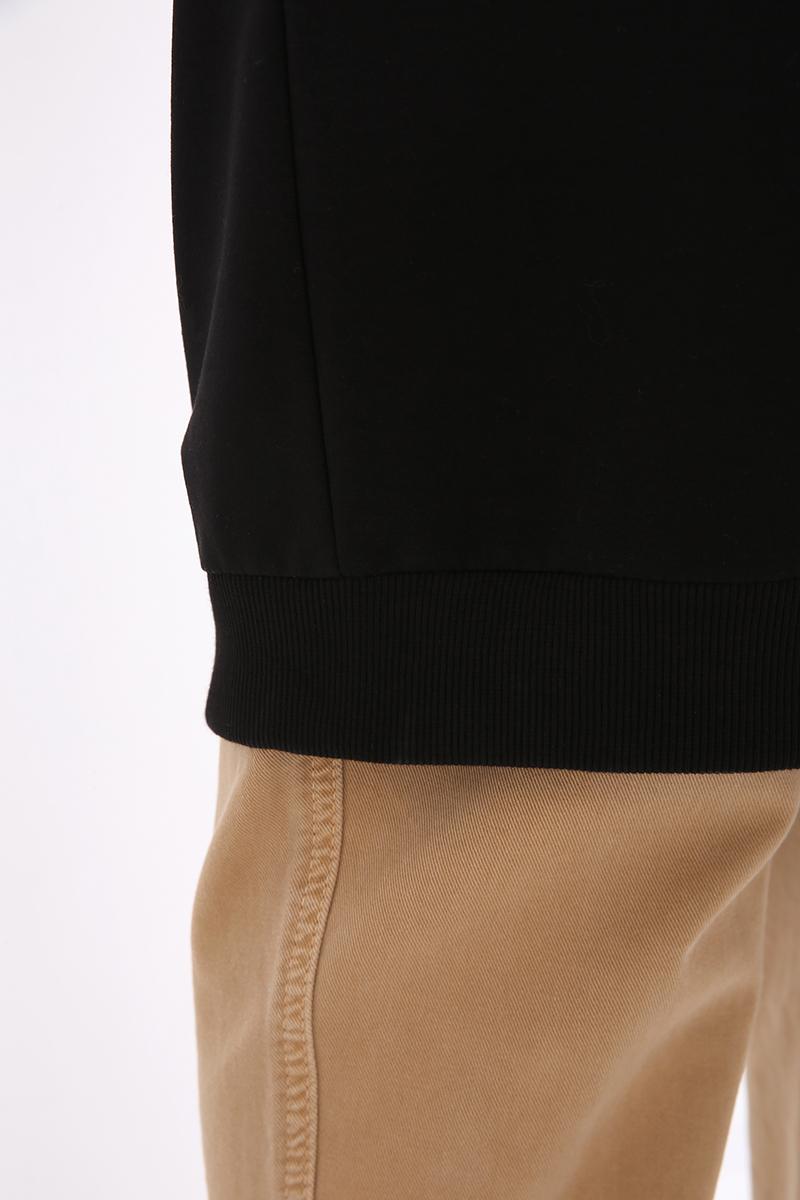 Basic Pamuklu Sweat Tunik