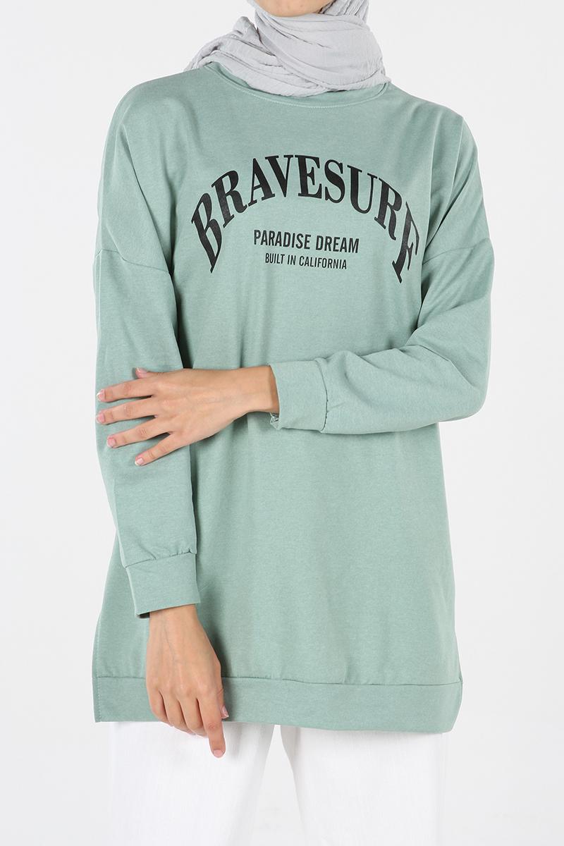 Baskılı Sweatshirt