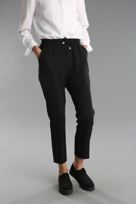 Beli Lastikli Cepli Bağcıklı Pantolon