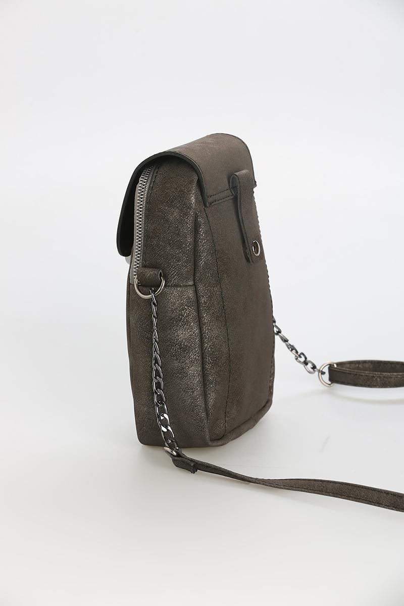 Çıtçıt Detaylı Çapraz Çanta