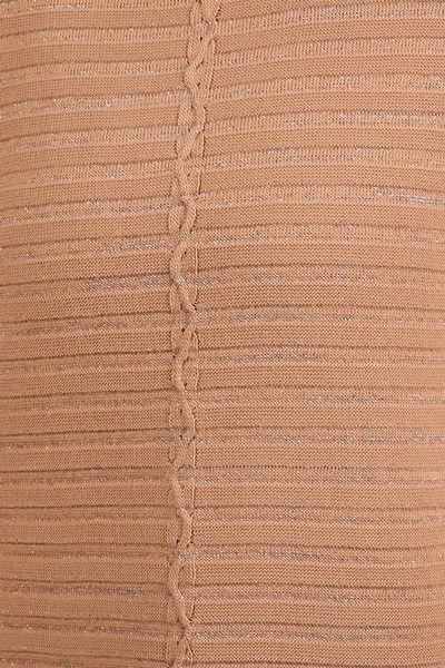 Çizgileri Sim Detay Triko Tunik