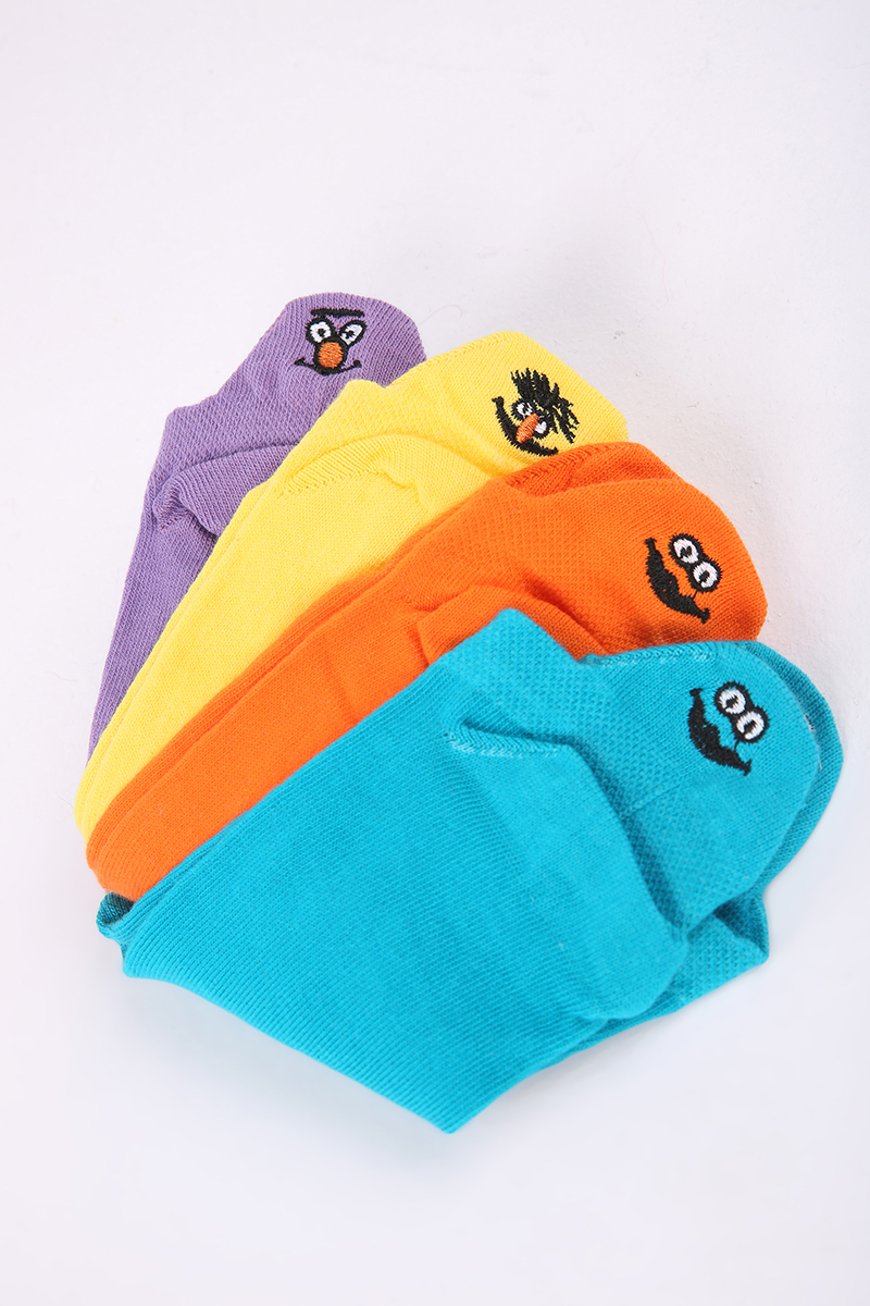 Emoji Desenli Çorap