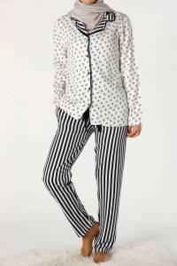 İkili Pijama Takımı