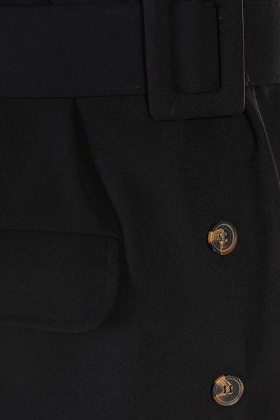 Kemerli Düğmeli Pantolonlu İkili Takım