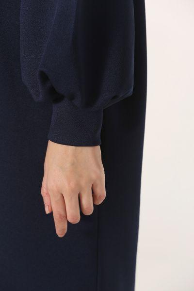Kol Büzgü Detaylı T-Kol Tunik