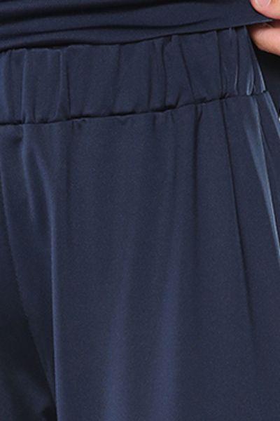 Pantolonlu Fermuarlı Kapüşonlu İkili Takım