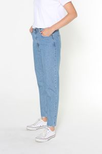 Denim Cepli Mom Pantolon