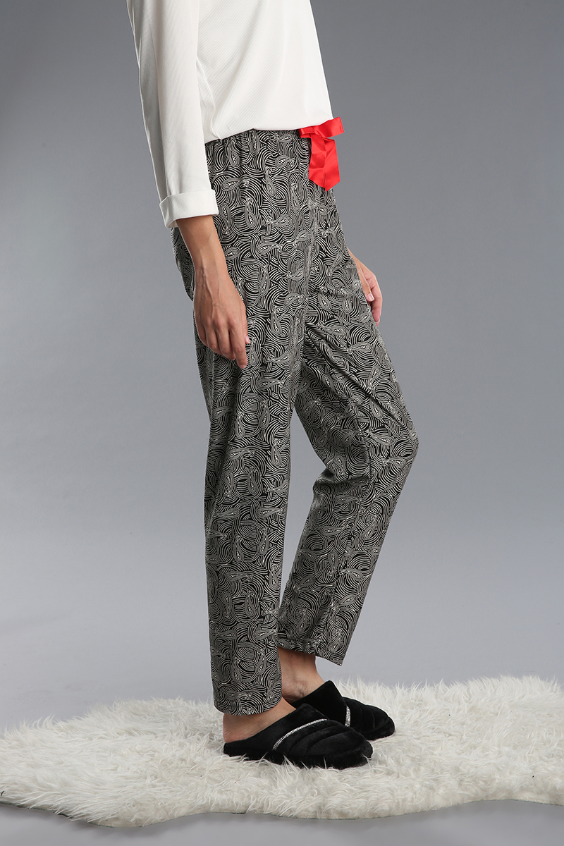 Pamuklu Desenli Pijama