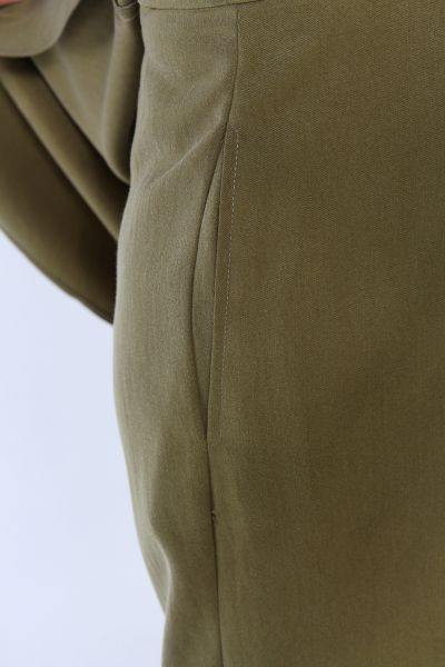 Asimetrik Kesim Pantolonlu İkili Takım