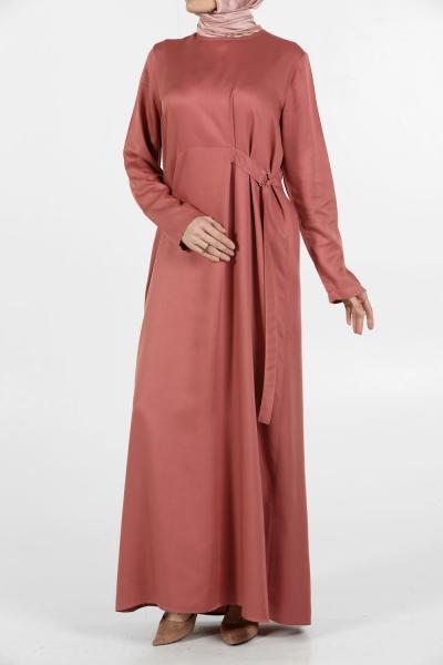 Kuşaklı Elbise