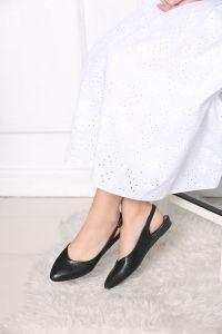 Yılan Derisi Model Sandalet