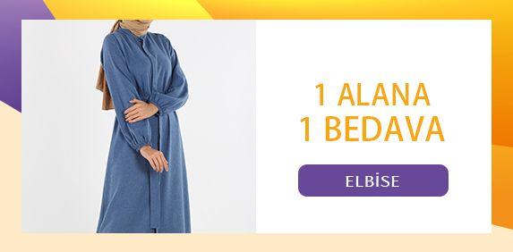 1 Alana 1 Bedava Elbiseler