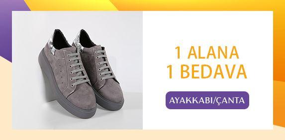 1 Alana 1 Bedava Ayakkabı ve Çantalar